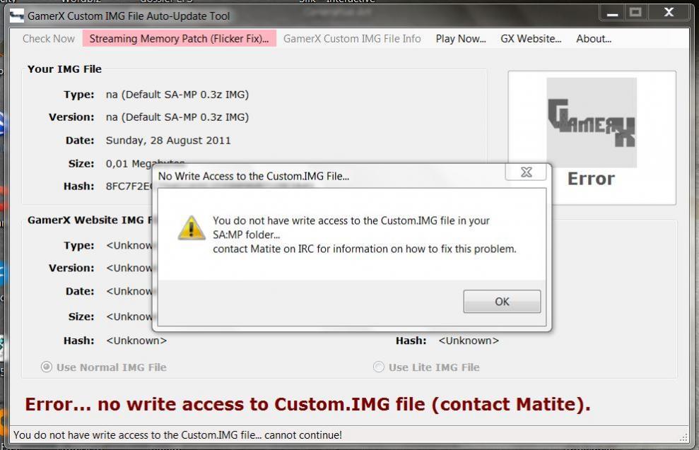 GamerX Custom IMG File v22 Released - GamerX Forums